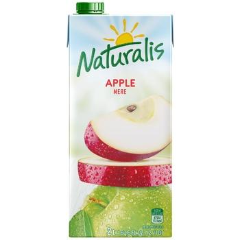 Нектар Naturalis красное яблоко 2л - купить, цены на Метро - фото 1
