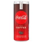 Băutură răcoritoare carbogazoasă Coca-Cola Coffee doză 6x0,25l