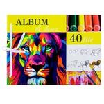 Album de desen A4 40file în sortiment