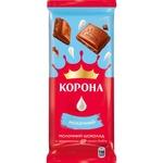 Ciocolata Korona lapte fara adaos 85g
