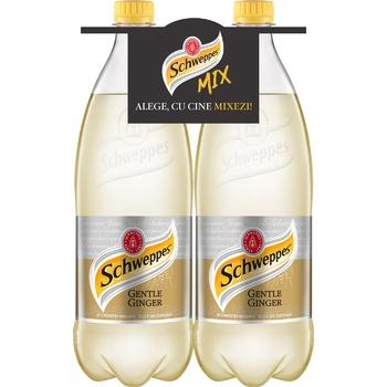 Напиток Schweppes Gentle Ginger 1л 2шт - купить, цены на Метро - фото 1
