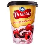 Десерт творожный Dolce вишня с шоколадом 350г