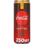 Băutură răcoritoare carbogazoasă Coca-Cola Coffee Caramel doză 6x0,25l