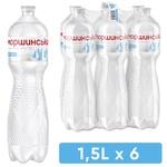 Минеральная негазированная вода Моршинська ПЭТ 6x1,5л