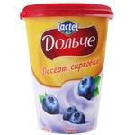 Десерт творожный Dolce черника 350г