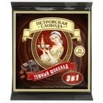 Cafea solubila Petrovskaia Sloboda 3in1 cioco neagra 25x20g