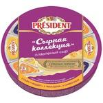 Сыр плавленый President сырная коллекция 140г