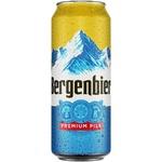 Bere blonda Bergenbier doza 0,5l