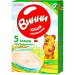 Каша Винни 5 злаков с молоком 200г