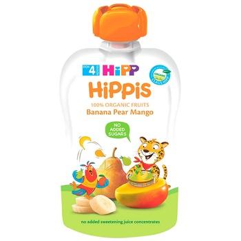 Пюре HiPP банан/манго 90г - купить, цены на Метро - фото 1