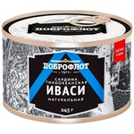 Сардина Доброфлот Иваси с маслом 245г