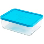 Cтеклянный контейнер с крышкой Bormioli Frigoverre 1,1л