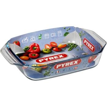 Прямоугольный стеклянный противень Pyrex Essentials 35х23см - купить, цены на Метро - фото 1