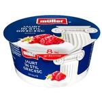 Йогурт греческий Muller малина 140г