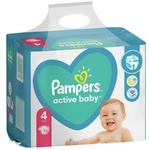 Scutece Pampers Active Baby 9-14kg Nr.4 76buc