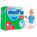 Scutece Pants Molfix nr.6 42buc