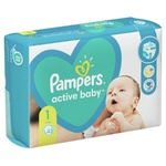 Подгузники Pampers New Baby-Dry 2-5кг 43шт