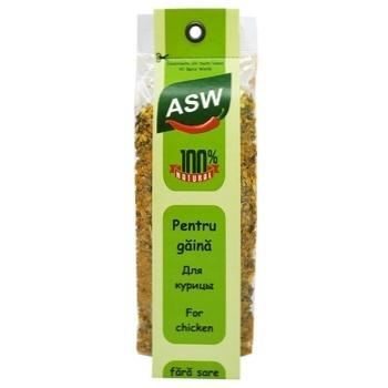 Специи ASW для курицы 40г - купить, цены на Метро - фото 1