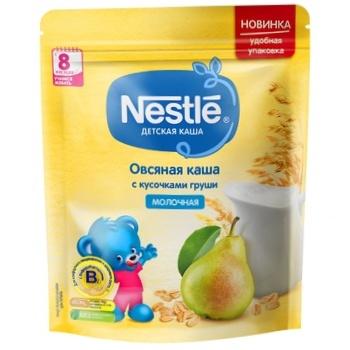 Каша Nestle овсянка груша 220г - купить, цены на Метро - фото 1
