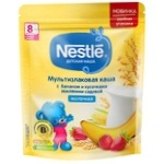 Каша злаковая Nestle банан/клубника 220г