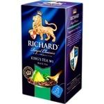 Чай Richard Kings Tea в пакетиках 25x2г