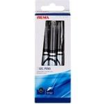 Черная гелевая ручка Sigma 3 штуки