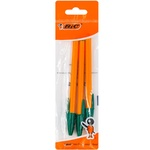 Ручка Bic Fine Orange зелёная 3шт