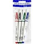 Гелевая ручка 4 штук AH801