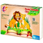 Pastă de modelat Zoo Luci 16 culori