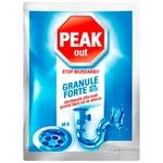 Гранулы для прочистки сливных труб Peak Out холодная вода 60г