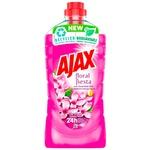 Detergent curatare podea si alte suprafete Ajax Liliac 1l