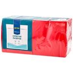 Servetele Metro Professional rosii 2str 33cmx33cm 250buc