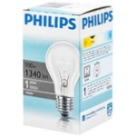 Philips A55 Clear E27 100W 230V