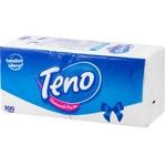 Салфетки Teno белые однослойные 24x26см 200шт