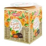 Конфеты Bucuria курага в шоколаде в коробке 200г
