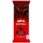 Ciocolata Korona neagra aerata 80g
