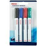 Set 4 markere Sigma aluminiu asortat