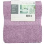 Полотенце Tarrington house Nos Фиолетовый 30X50см