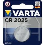 Батарейки VARTA ELECTRONICS CR2025 1шт