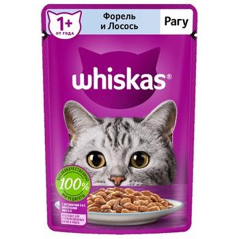 Корм для кошек Whiskas рагу/пастрама 85г - купить, цены на Метро - фото 1
