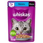 Hrana pisici Whiskas ragu/somon 85g