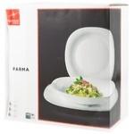 Набор тарелок Bormioli Parma 18 ед