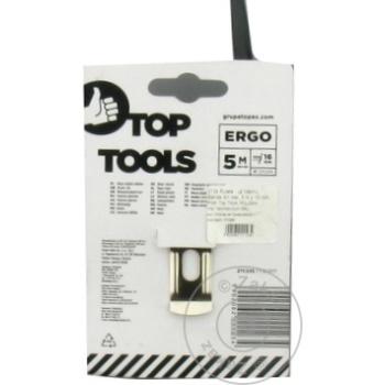 Рулетка с фиксатором Top Tools 5m - купить, цены на Метро - фото 2