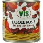 Fasole rosie Vis in sos de tomate 410g
