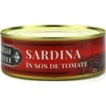 Сардина Латвийская Империя в соусном томате 240г