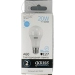 Gauss Bec LED 20W E27 65K A60