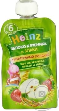 Pireu Heinz mere/capsuna/cereale 90g - cumpărați, prețuri pentru Metro - foto 1