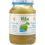 Пюре Vita Baby яблоко 180г