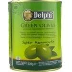Măsline verzi cu sâmbure Delphi 820g