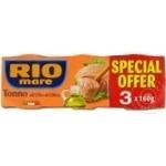 Ton Rio Mare in ulei de masline 3x160g - cumpărați, prețuri pentru Metro - foto 1